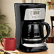 12 cup coffeemaker with brew strength selector by black decker