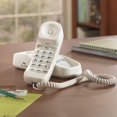 Loud & Clear Slim Line Phone by Uniden: T-Coil Hearing Aid Friendly