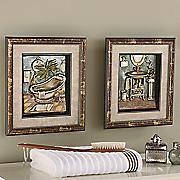 dimensional victorian bath art