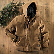 Sanded Duck Hooded Jacket By Dickies