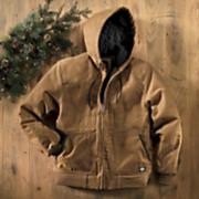 Sanded Duck Hooded Jacket By Dickies