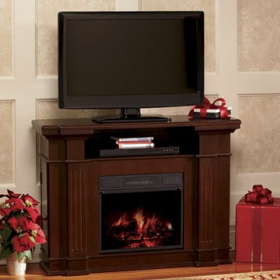 TV Stand & Storage Electric Fireplace