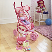 Dream Collection Baby Doll And Stroller Set