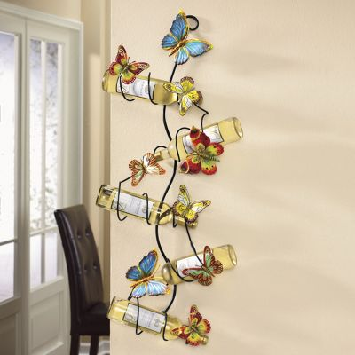 Butterfly Wine Rack