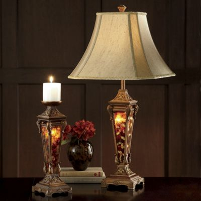 3-Way Table Lamp and Candleholder