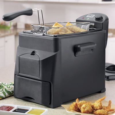 Chef Tested 4-qt. Easy Drain Fryer by Montgomery Ward