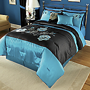 Marianne 10 pc Embroidered And Applique Bed Set