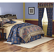 Samir Bed Set, Pillow, Valance and Panel Pair