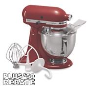 KitchenAid 5-Qt Artisan Stand Mixer