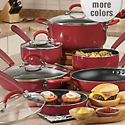 chef tested 10 pc nonstick aluminum cookware set by montgomery ward