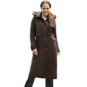 women s long stadium coat by totes