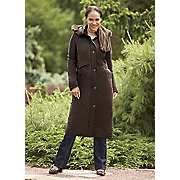 women s long stadium coat by totes