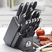 SabaTier 17 Piece Soft Grip Cutlery Set