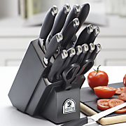 SabaTier 17 Piece Soft Grip Cutlery Set