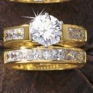 Round/Channel Bridal Set