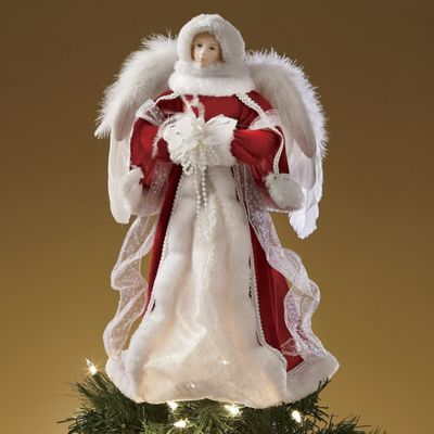Christmas Angel Tree Topper From Through The Country Door