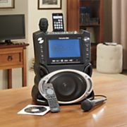 portable dvd cd mp3 karaoke system