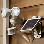 Solar Dual Head Spotlight