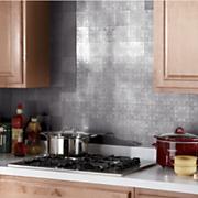 self stick tin backsplash tiles