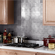 self stick tin backsplash tiles