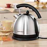 stainless steel electric kettle by hamilton beach