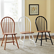 set of 2 arrowback chairs 134
