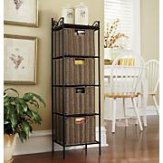 4-Basket Storage Tower