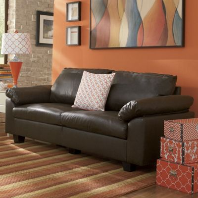 Modern Living Sofa From Midnight Velvet 451546