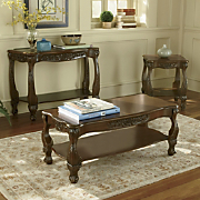 Carved Apron Tables by Montgomery Ward