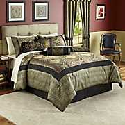 Valetta Woven Jacquard 21-Piece Bedding Set