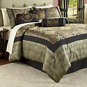 valetta woven jacquard 21 pc bedding set