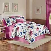 In Bloom Bedding Set, Pillow & Window Treatments