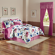 In Bloom Bedding Set, Pillow & Window Treatments
