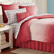 Color Connection Ombre Stripe Complete Bed Set, Window Treatments & Pillow by Montgomery Ward