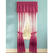 color connection ombre stripe window treatments by montgomery ward