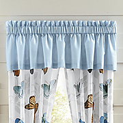 spring butterfly valance