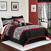 7 pc zaire bed set and window treatments