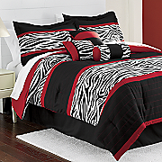 Zaire 7 Piece Bed Set and Window Treatments