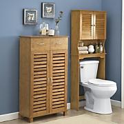 Great Value Bamboo finish Bath Furniture