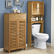 Great Value Bamboo finish Bath Furniture