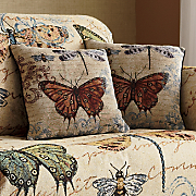 Blossomwood Butterflies Pillow