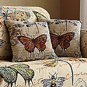 blossomwood butterflies pillow