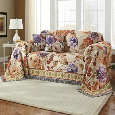 Tapestry Furniture Throw and Pillow