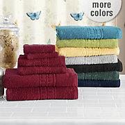 classic cotton 6 pc towel set