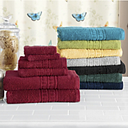 classic cotton 6 pc towel set