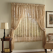 Contessa Jacquard Lace Window Treatments