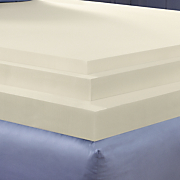4 inch sleep connection viscose memory foam topper by montgomery ward