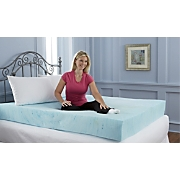 8 inch sleep connection viscose memory foam mattress with smooth cooling gel by montgomery ward