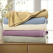 comfort creek  all season woven blanket by montgomery ward