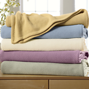 Comfort Creek ™ All-Season Woven Blanket by Montgomery Ward ®